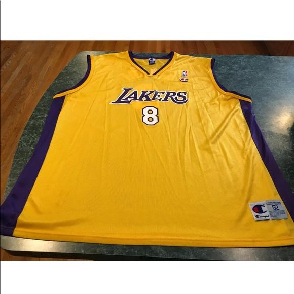 check out cb4b2 44823 Vintage Champion Kobe Bryant #8 Jersey Size XXL